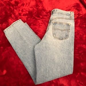 Anchor Blue Jeans - Anchor Blue Pleated Jeans